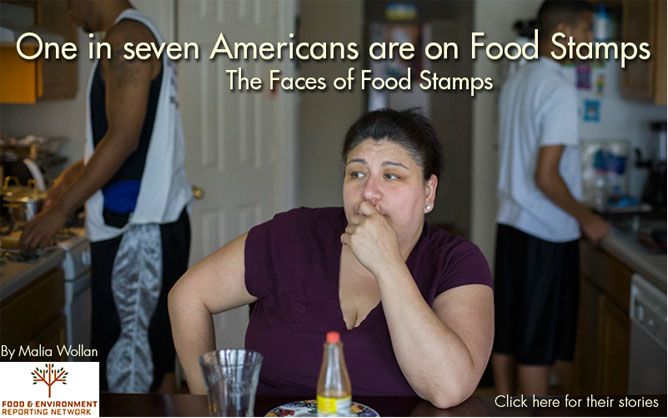 The Faces of Food Stamps