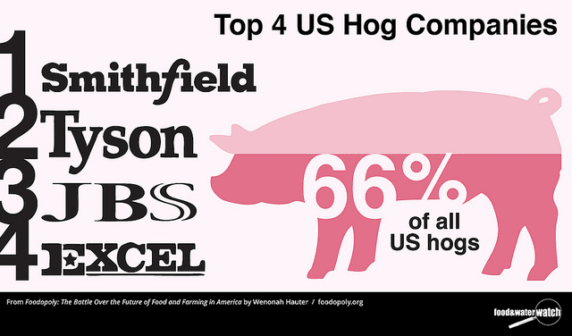 Top Hog Companies Chart