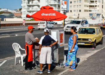 The transnational giants Coke and KFC have increased their presence in urban South Africa in recent years.