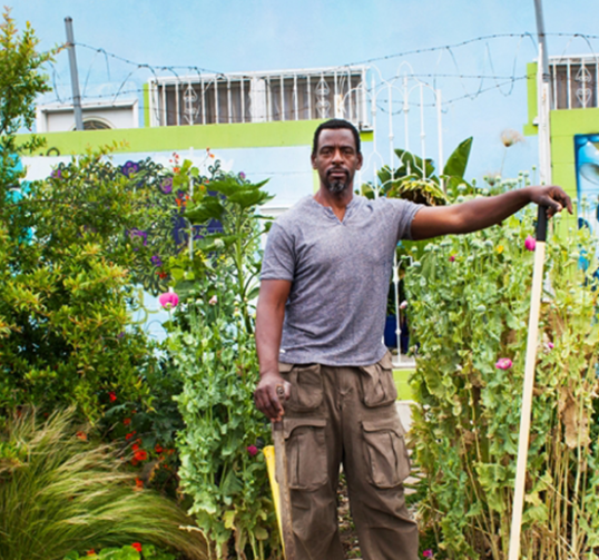 L.A.'s Ron Finley Wants To Make Gardening Gangsta