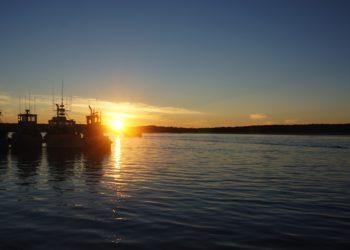 TailsFromBristolBay  - sunset Bristol Bay