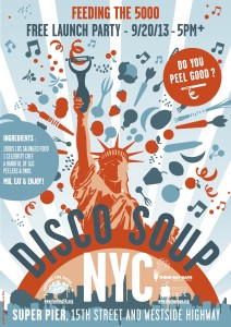 Disco Soup NYC Flyer Sept 20