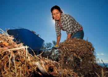 Slide Ranch farming intern, Angela Leyba.