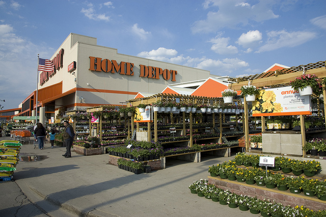 Home Depot Garden Department