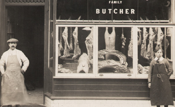 Image result for Old Butchers Shop