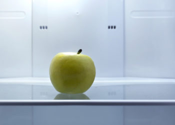 hunger (empty refrigerator)