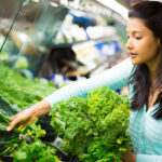 buying greens, healthy eating