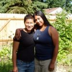 Joanne Alcantara and Boo Torres of Seattle's 2 Brown Chicks Family Farm. Photo by Jonah Mossberg.