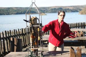 Dr. Tessa Hill UC Davis Bodega Bay Marine Lab. Examining Ocean Acidification_PH Monitoring Sensoring. Hog ISland Oyster Farm