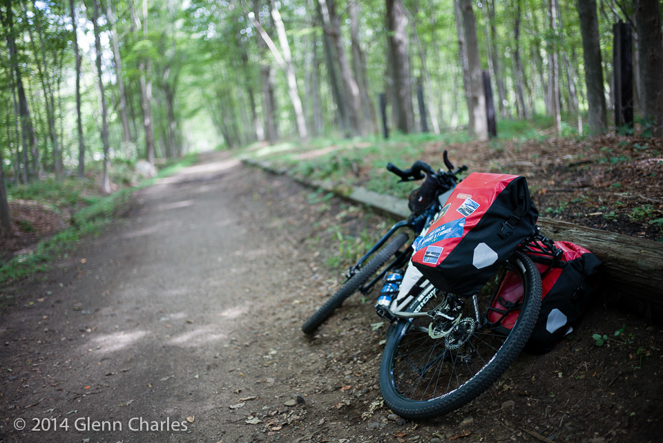 Bike in field