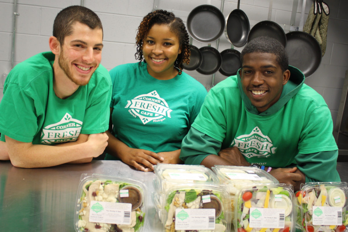 Real Salad in a Gas Station? Detroit Company Creates Fresh Food Pit ...
