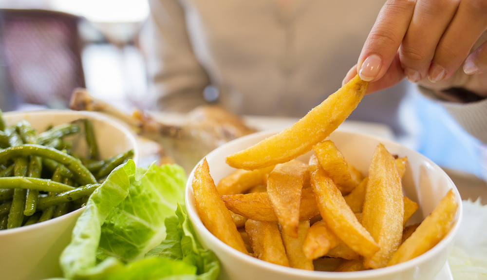 French fries BPA