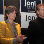 Republican Joni Ernst campaigns with Rand Paul in Iowa. Ernst won the retiring Senator Tom Harkin's seat on November 4, 2014 and will likely play a key role in discussions about corn and ethanol. Photo by Gage Skidmore via Flickr.