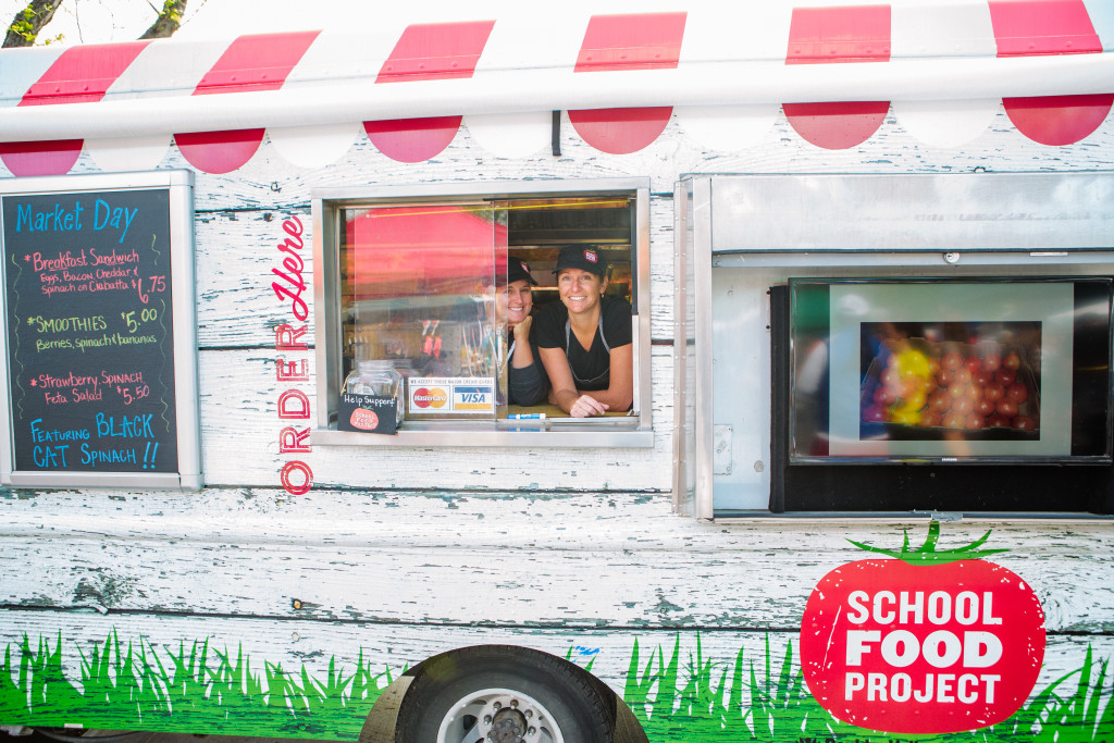 food truck school
