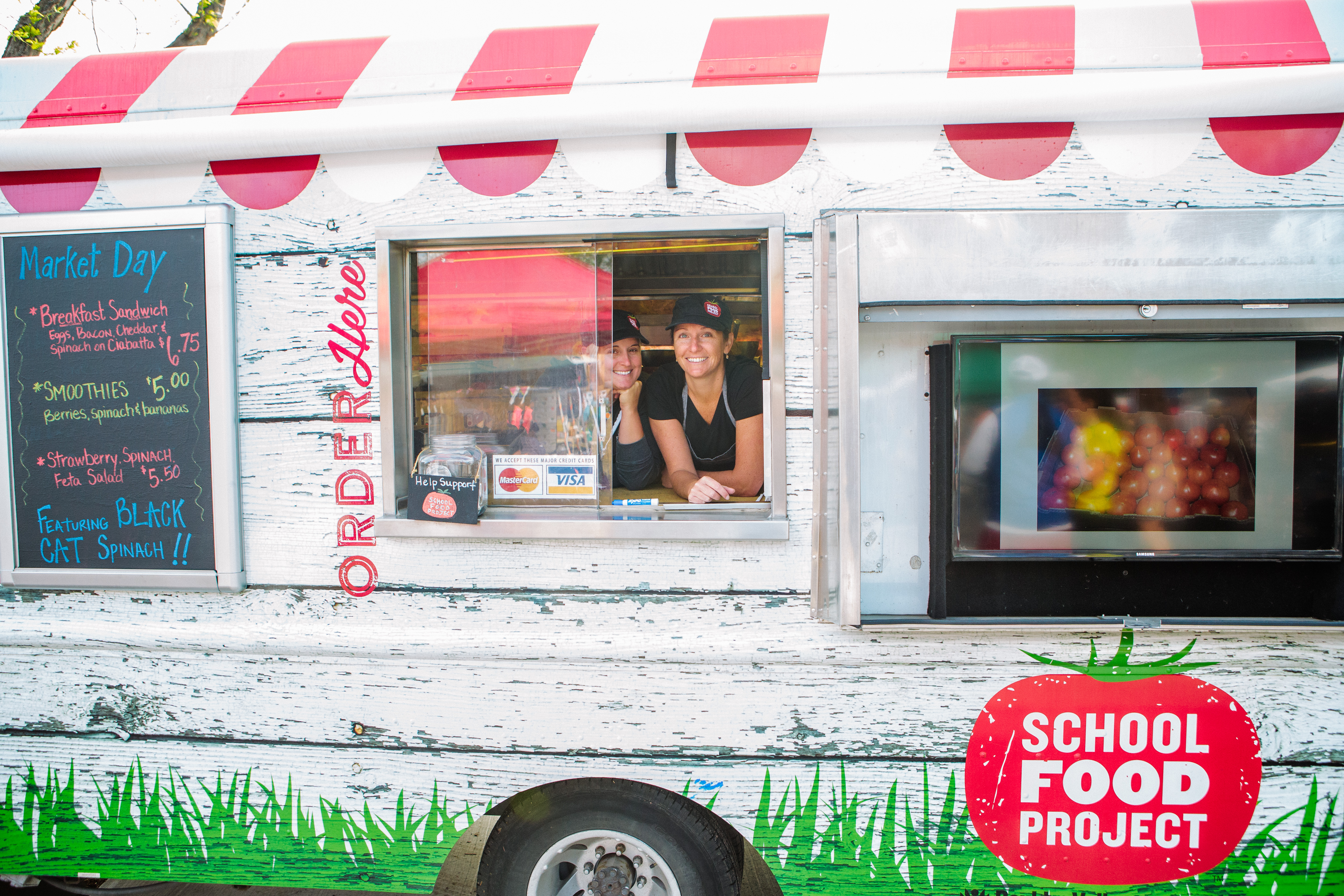 how food trucks are serving up healthy food to high school. Black Bedroom Furniture Sets. Home Design Ideas
