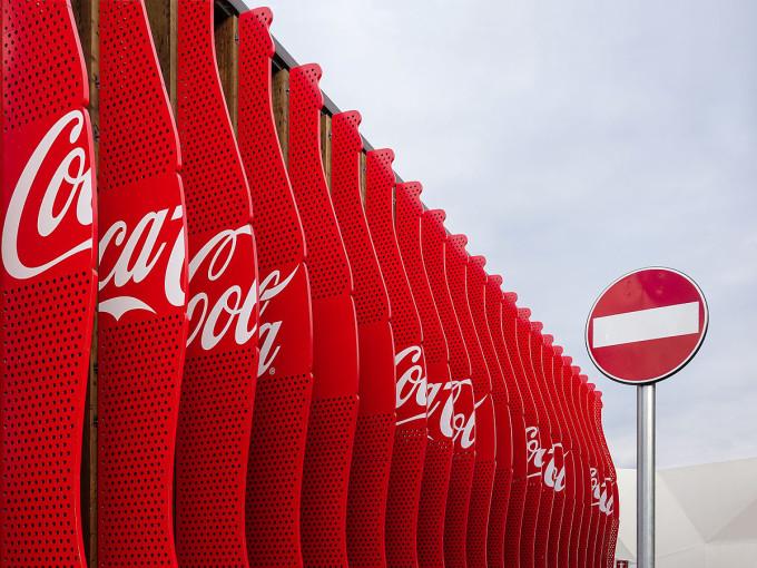 Coca-Cola Artwork Installation at Expo 2015