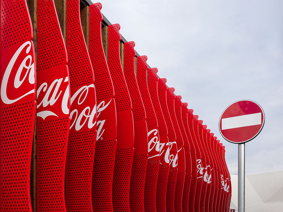 Coca-Cola Artwork Installation at Expo 2015