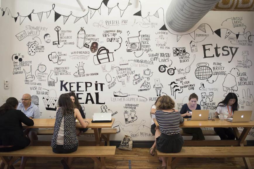 Inside Etsy Headquarters