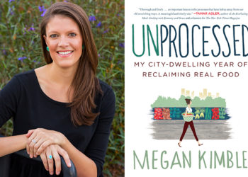 Megan Kimble and Her Book, Unprocessed