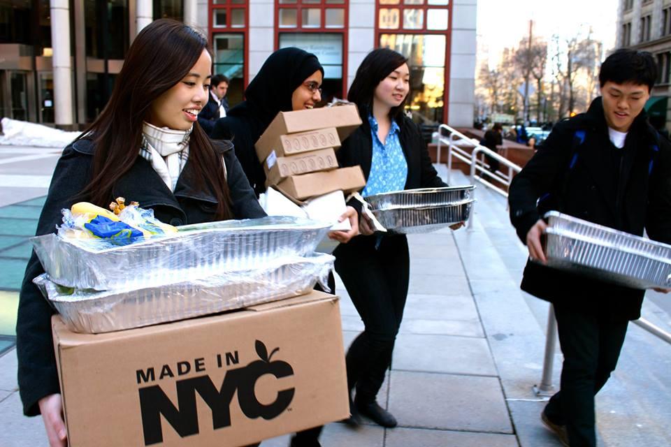 Rescuing Leftover Cuisine Volunteers in New York City