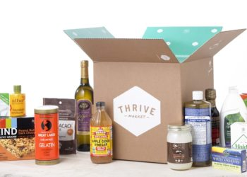 Thrive Market Organic Healthy Food Delivery