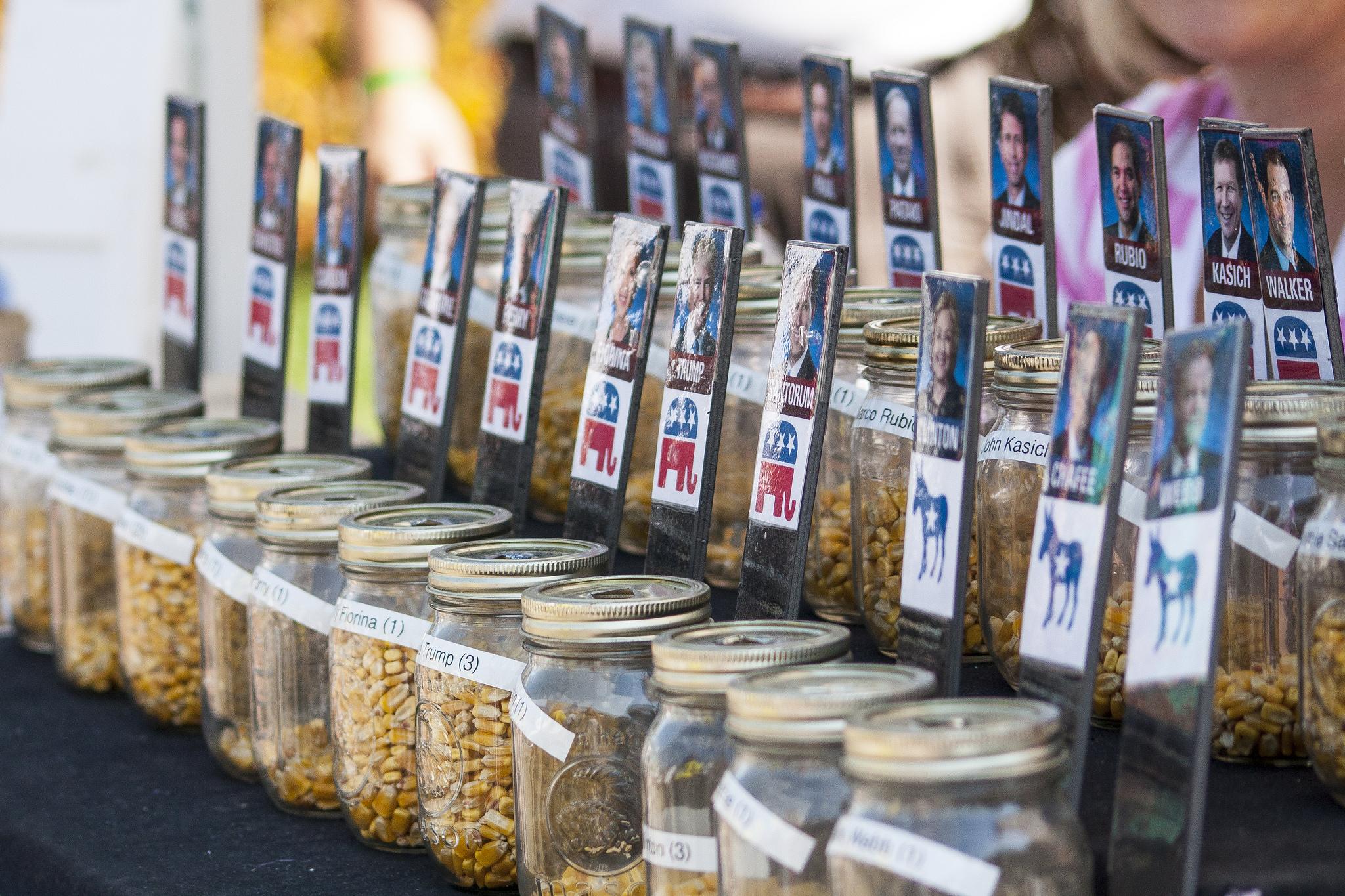 Iowa Corn Poll at Iowa State Fair