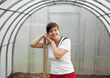 Millennial Greenhouse Worker