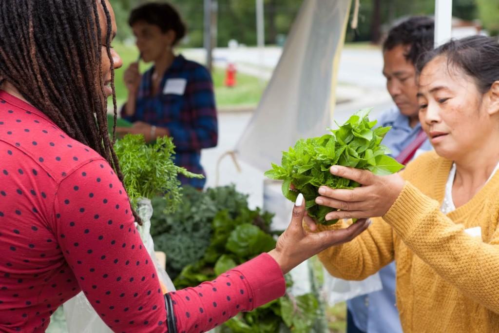 Farmer's Market in Carrboro, North Carolina