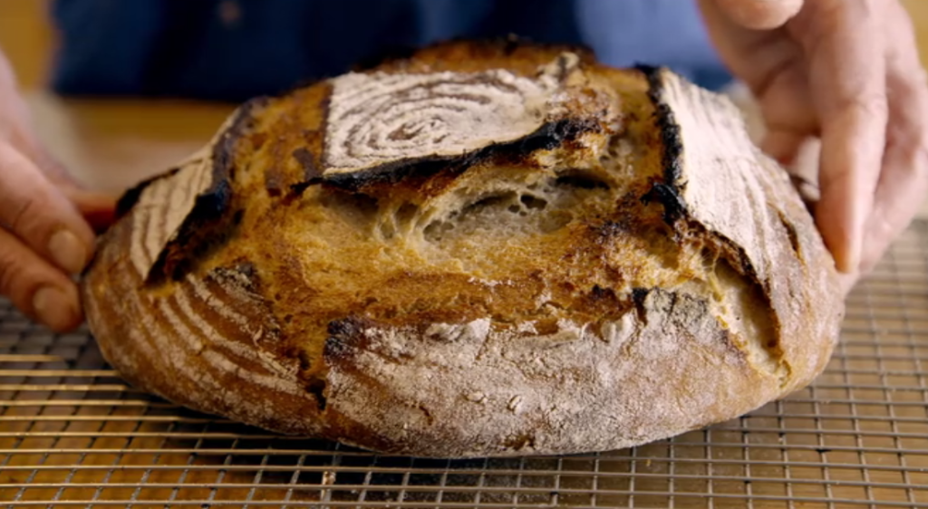 "Loaf of Bread in ""Cooked"" Netflix Documentary"
