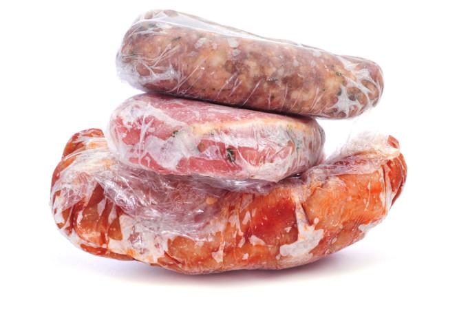 Packaged Frozen Meat
