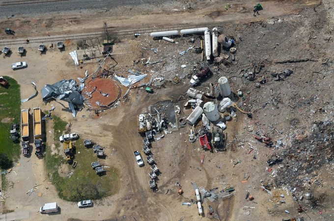 West Texas Fertilizer Explosion Aftermath