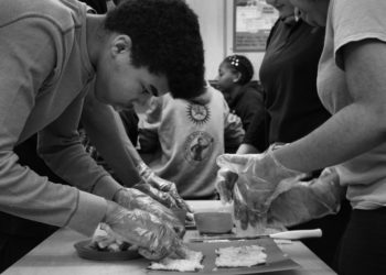 Kids Learning at the Detroit Food Academy