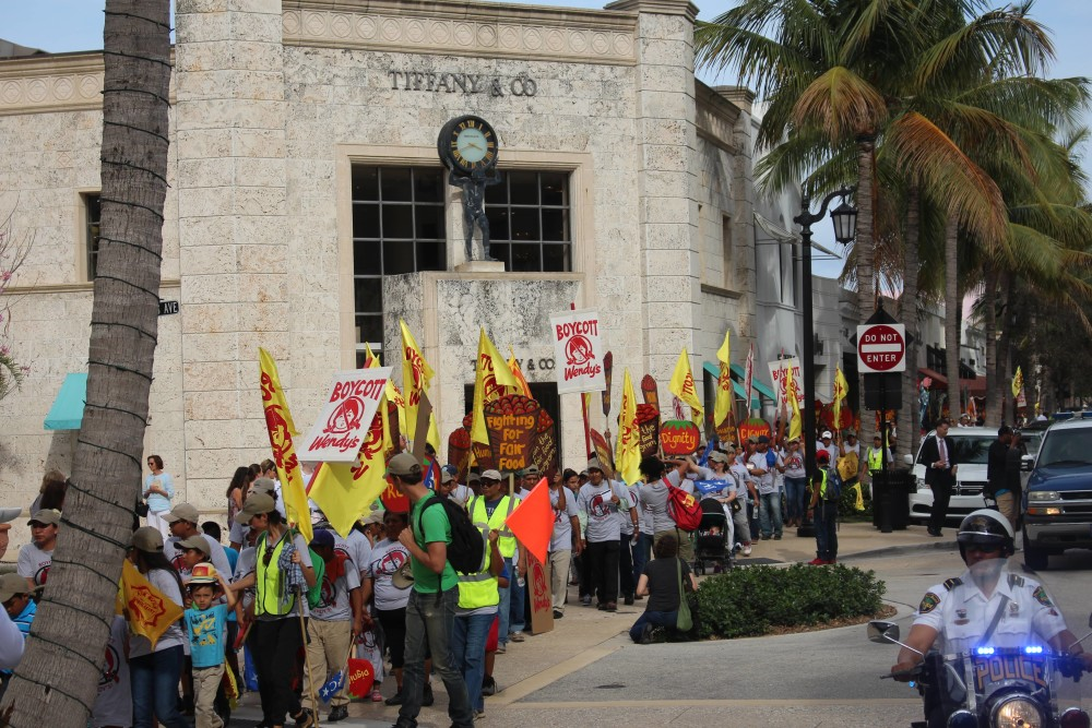 Tomato Workers Boycotting Wendy's