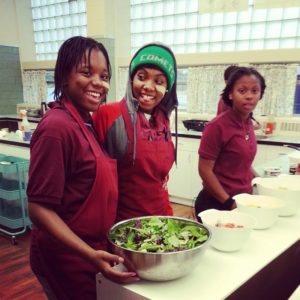 High School Students at the Detroit Food Academy