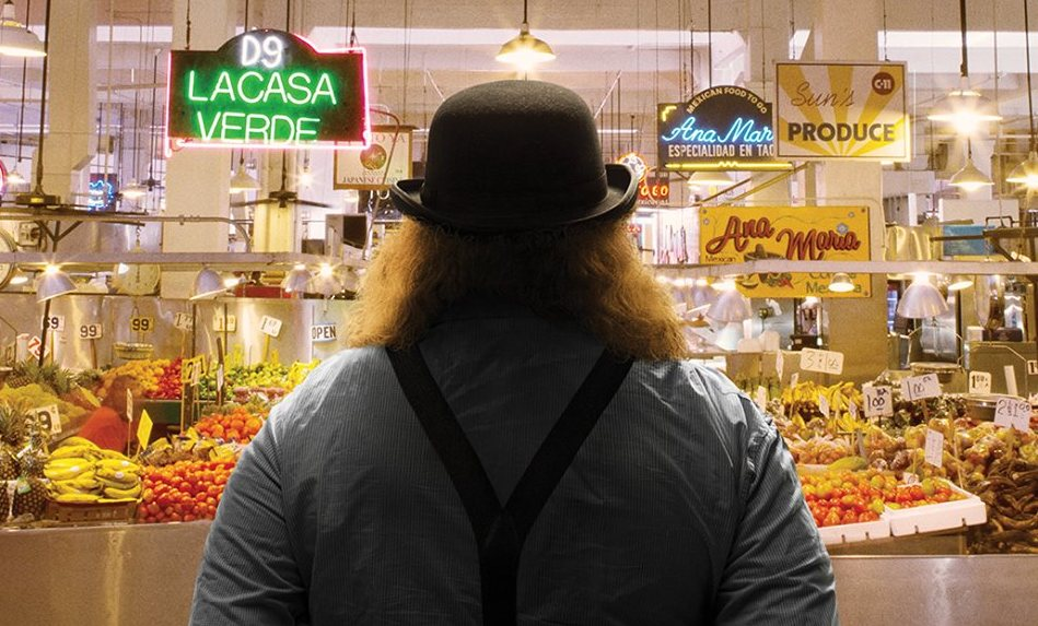 Jonathan Gold in Market