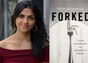 Saru Jayaraman and her Book, 'Forked'
