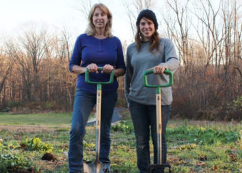 Ann Adams and Liz Brensinger of Green Heron Tools