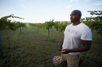 Davon Goodwin on Farm