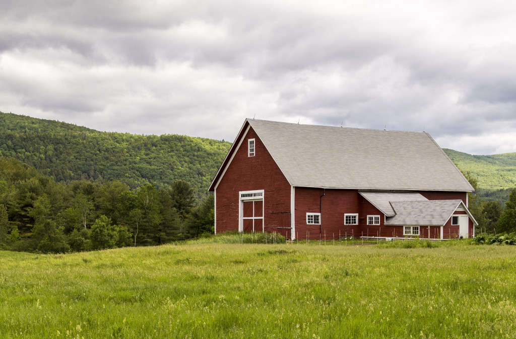 Barn in Green Fields