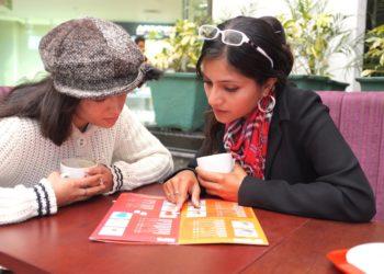 Women at Organic Restaurant