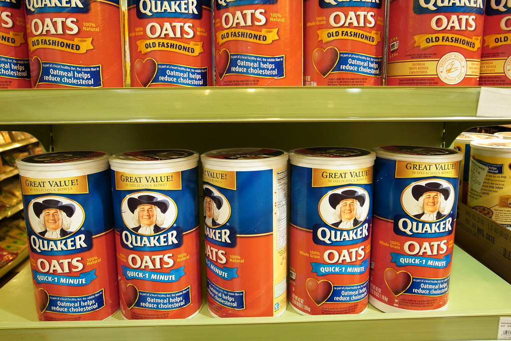 Quaker Oats in on Grocery Store Shelves
