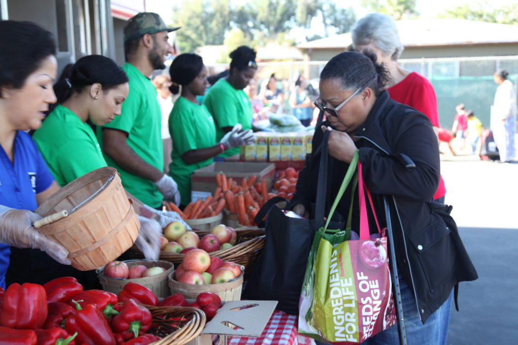 Alameda mobile food pantry