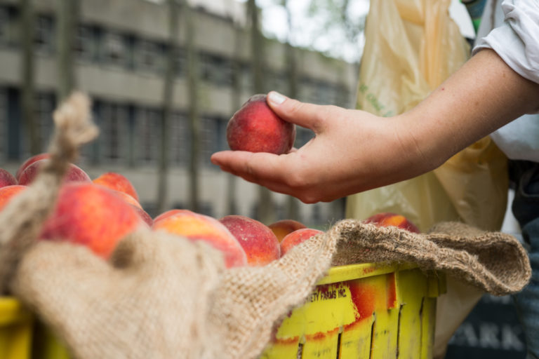 Only about a quarter of the peach-growing acres in New York State are covered by an insurance policy.