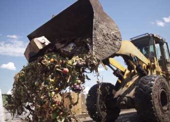 food waste truck