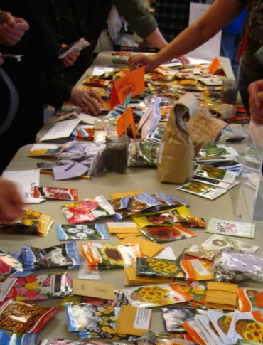 seed swap Edible Garden Project