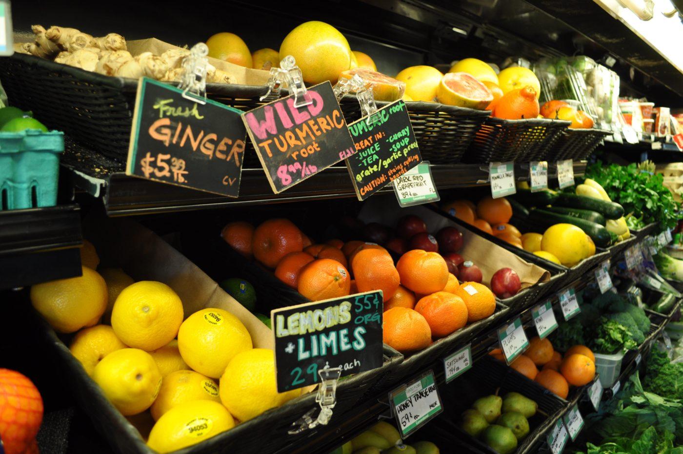 Good food markets produce Washington DC