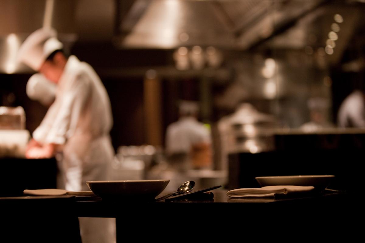 chefs preparing in a kitchen