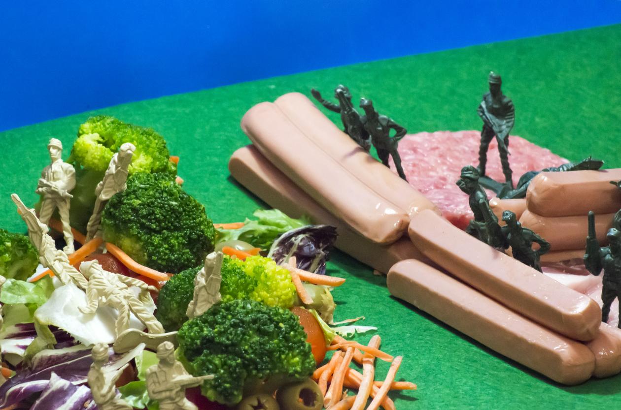 vegans versus meat eaters
