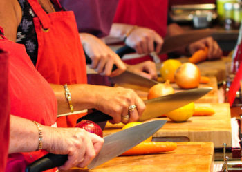 food waste cooking class