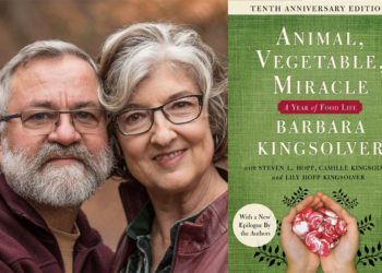 aniimal vegetable miracle cover and authors